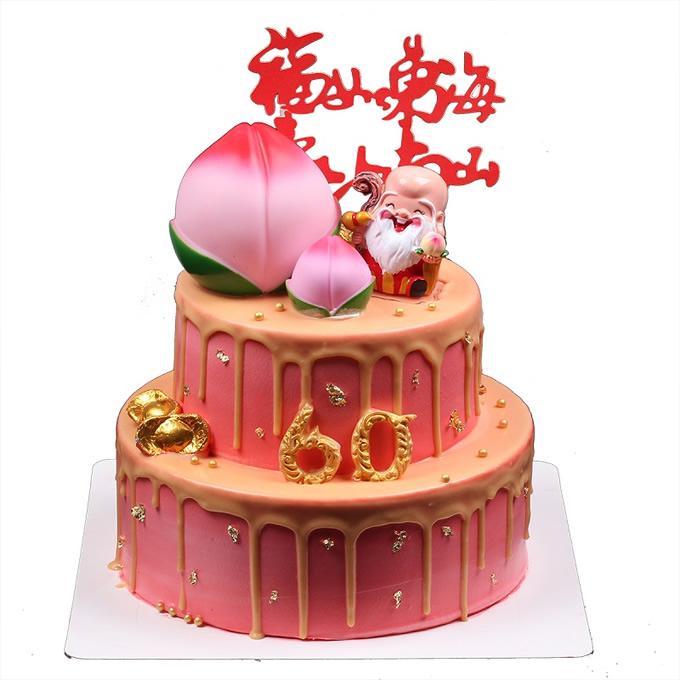 买蛋糕-蟠桃贺寿
