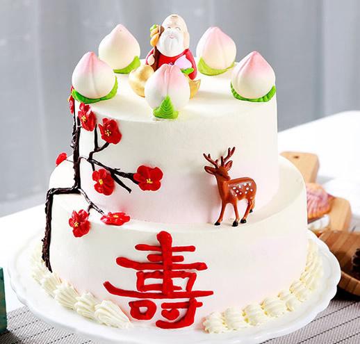 水果蛋糕-福寿双全