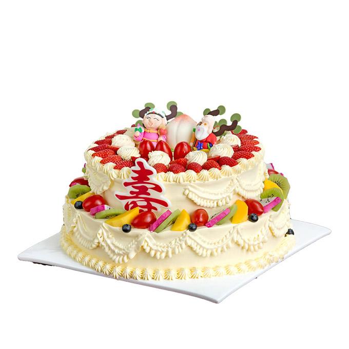 卖蛋糕dangao-双星贺寿