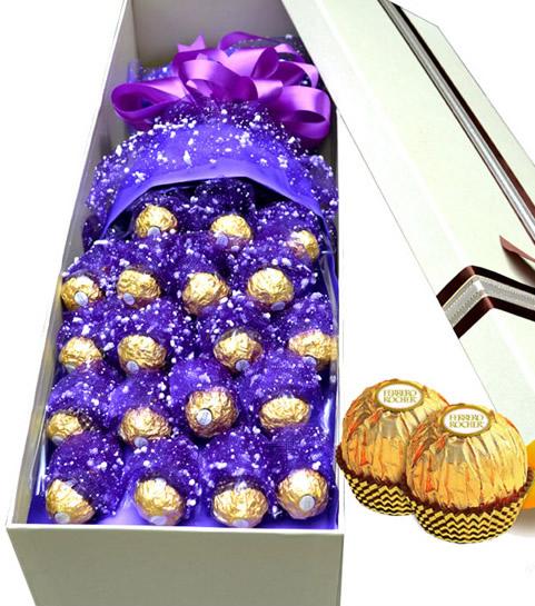 �W上�花-巧克力
