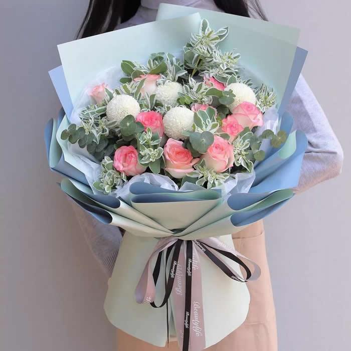 鲜花礼品-想你在远方