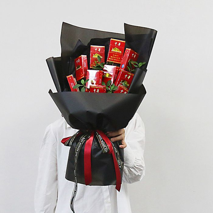 �W上�花-中�A香��花束