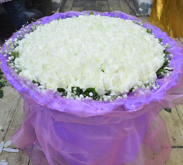 鲜花店-白色之恋