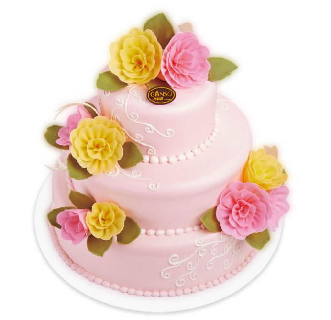 元祖巧克力蛋糕价格-元祖蛋糕-粉色恋曲鲜奶蛋糕