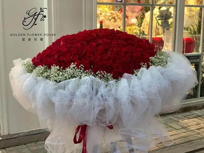 鲜花店-百分百的爱