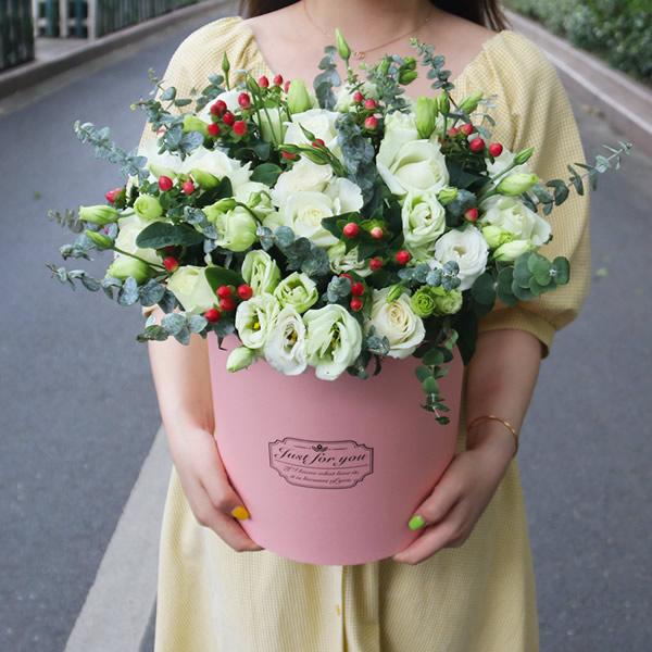 鲜花店-喜笑颜开