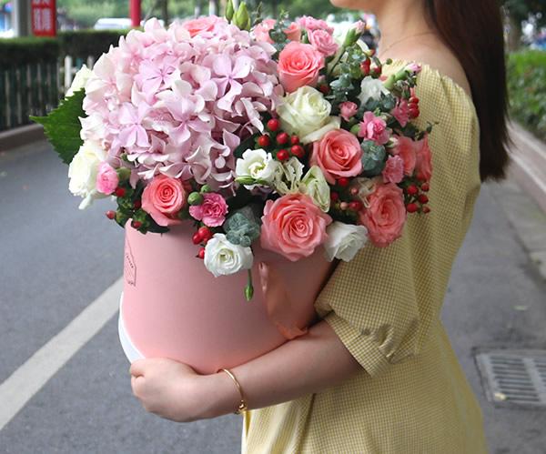 送花-姹紫嫣红