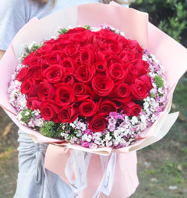 鲜花快递-情人之歌