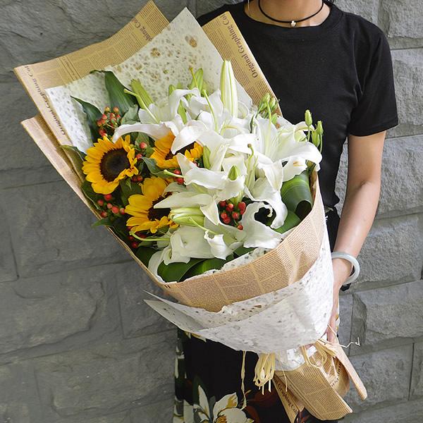 网络订花-七月的鲜花