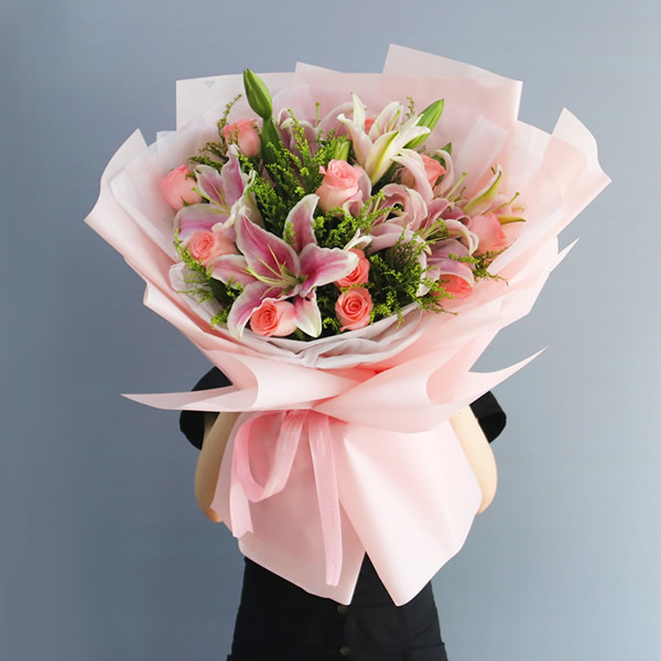 鲜花店-深切的祝福