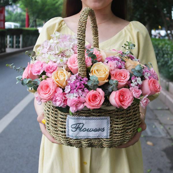 鲜花店-只钟情你