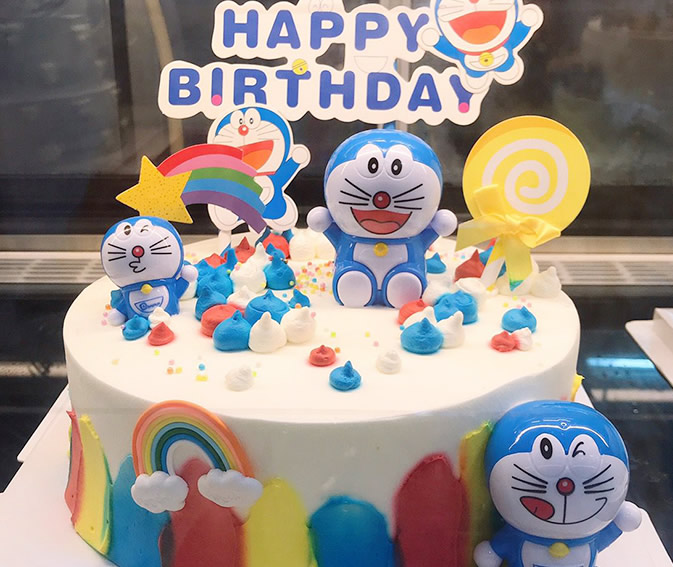 米旗品牌蛋糕-哆啦A梦蛋糕B款