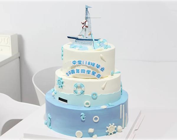 米旗蛋糕-白雪公主