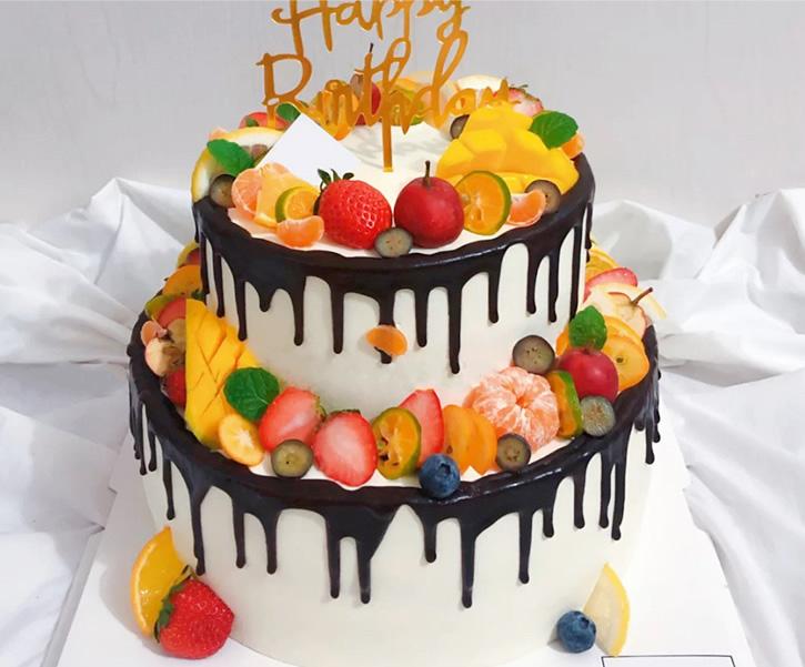 蛋糕鲜花-红火
