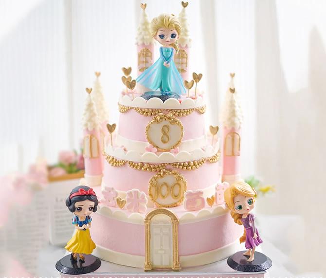 买蛋糕-三层儿童蛋糕D款