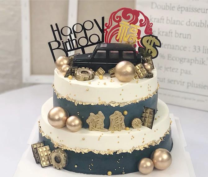 买蛋糕-网红奔驰汽车蛋糕E款