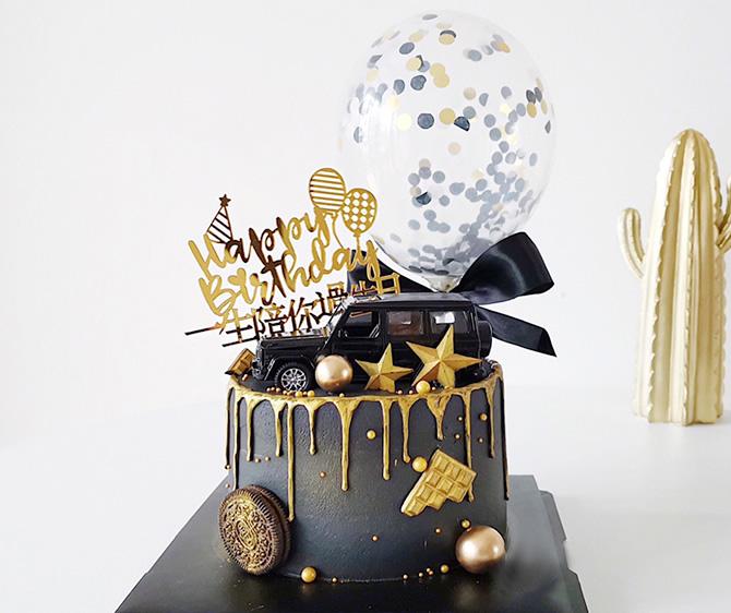 蛋糕订购-单层汽车蛋糕F款