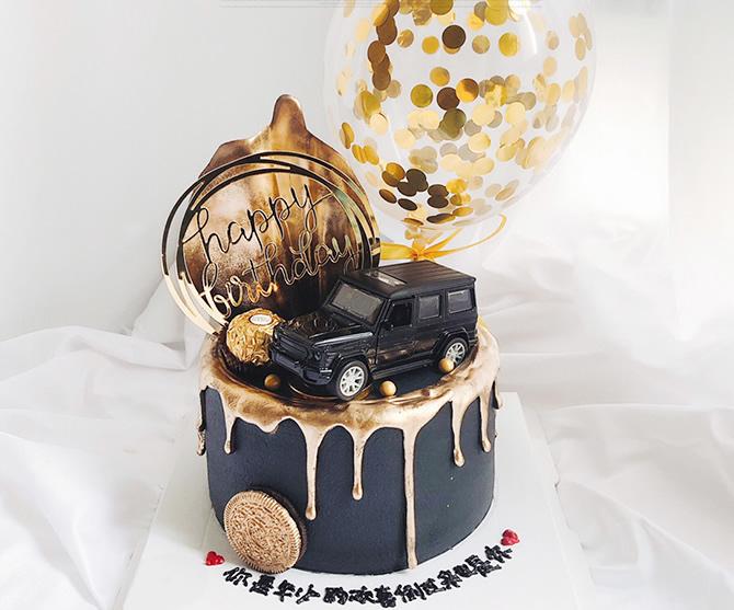 买蛋糕-单层汽车蛋糕D款