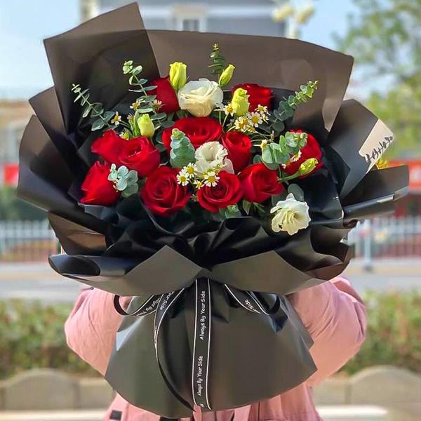 鲜花快递网-轻吻