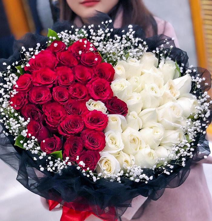鲜花订购-心心相印