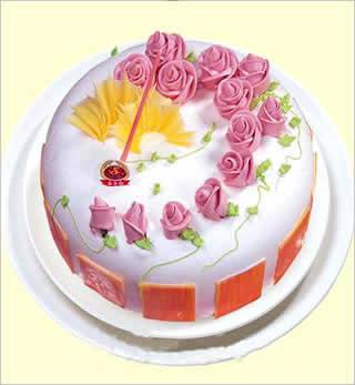 石碣镇鲜花-冰淇淋蛋糕2