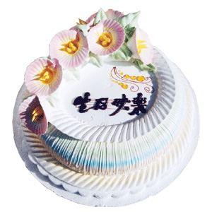 怀来鲜花-冰淇淋味蛋糕