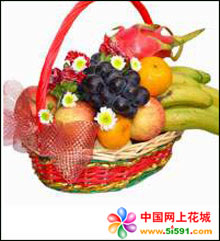 无锡水果篮:果篮・想家的时候