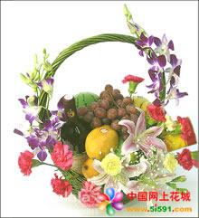 义乌水果篮:温情家园