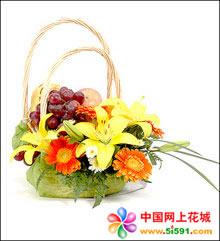 大连水果篮:果篮・甜美节日