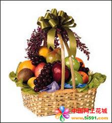西安水果篮:硕果累累满篮香