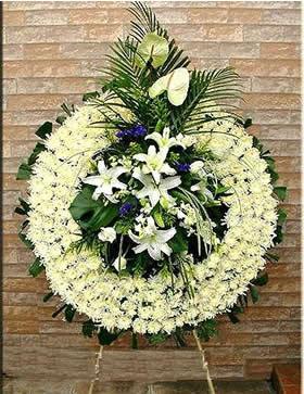 宁波鲜花:哀悼花圈