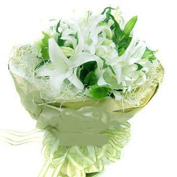无锡网上订花:百合爱情