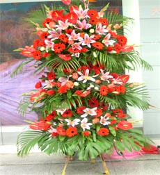 永康鲜花:开业花篮1