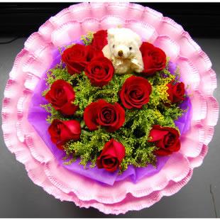 衡水鲜花:爱情红玫