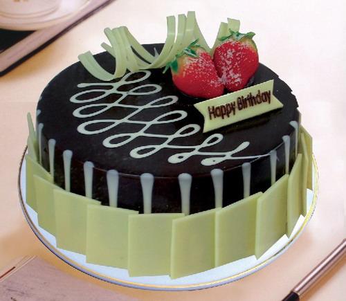 大连生日蛋糕:黑白之恋