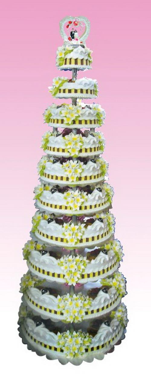 义乌蛋糕:婚礼蛋糕1