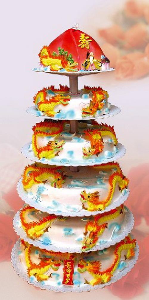 品内容 6层 祝寿蛋糕 仅限市区图片