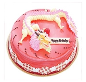 大连生日蛋糕:龙龙