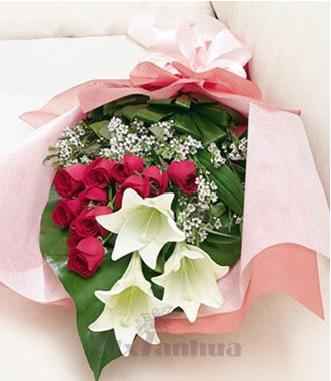 珠海订花:你的微笑