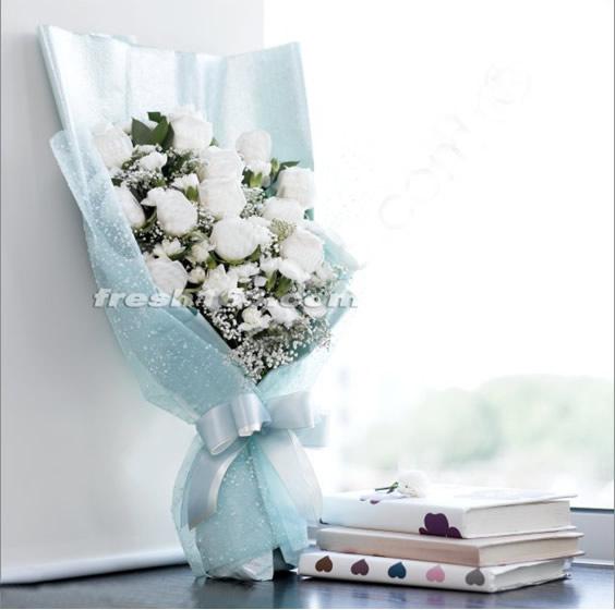 永康鲜花:清新的你