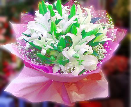 西安西安送花:百年好合