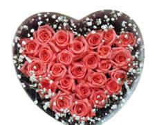 宁波鲜花:粉礼盒