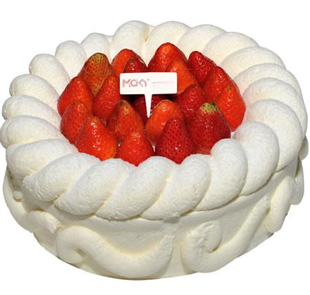 海阳生日蛋糕:米旗 白色恋人