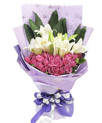 西安鲜花:相守