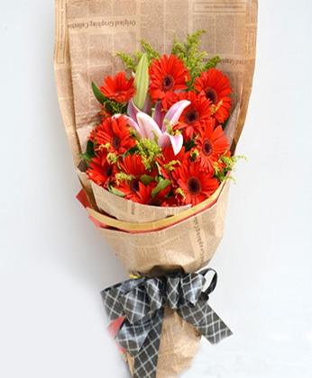 大连鲜花礼品鲜花-幸福开心