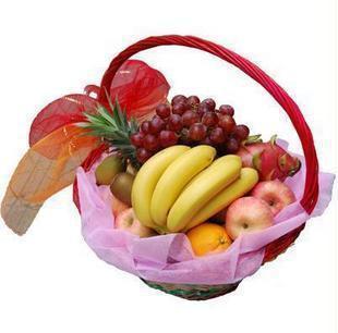 西安水果篮:红红火火