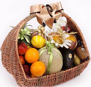 无锡水果篮:果篮-浪漫满篮