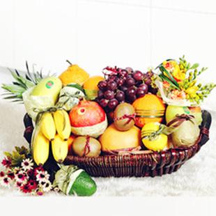 海阳水果篮:香甜淡雅