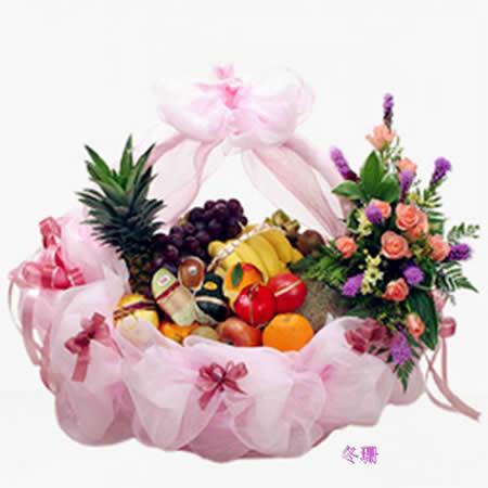 大连水果篮:淡雅