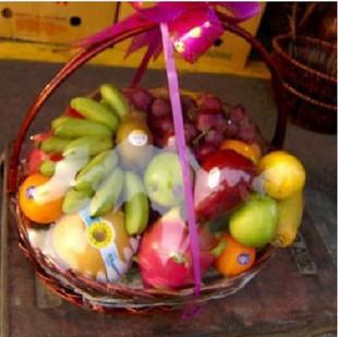 拉萨水果篮:果篮・祝福纪念